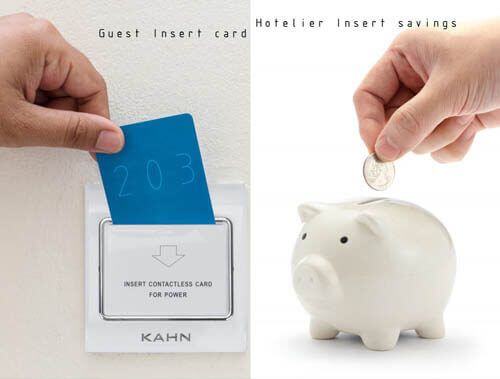 KAHN energy saving switch saves your money