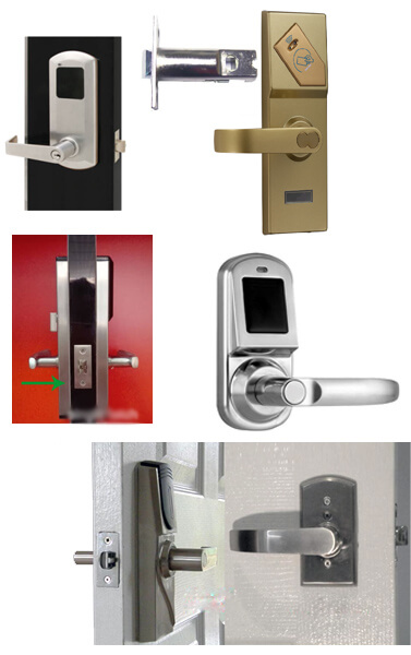 cylindrical RFID door locks