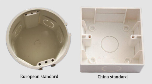 different size junction box