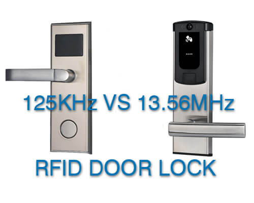 What's the Difference? 125 kHz vs  13 56MHz RFID hotel door