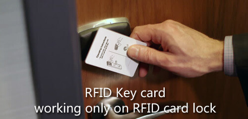 RFID key card and lock