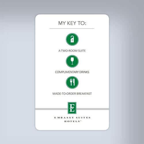 hotel key card functions