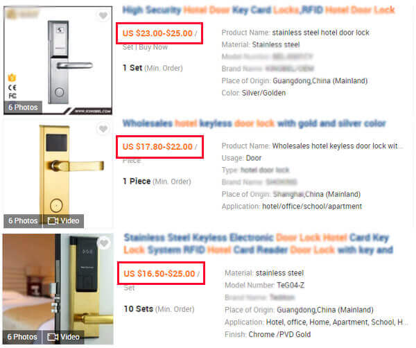 cheap hotel locks on alibaba.com