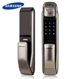 SAMSUNG Push-Pull door lock have many keyless entry ways