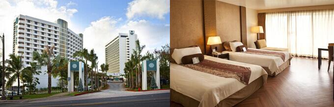 Guam Reef hotel don't prepare door bell for each room